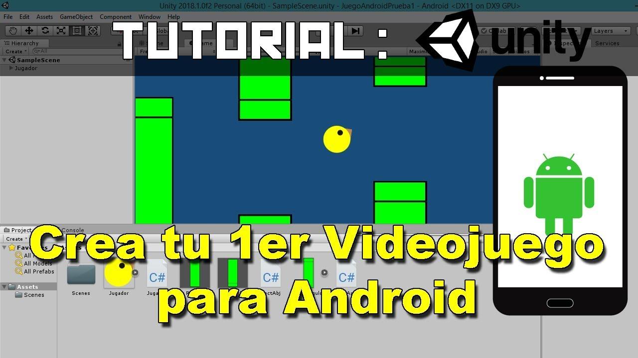 Como Hacer Juegos Para Android En Unity Youtube