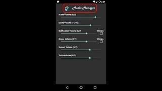 How to recover Audio manager password and get data back