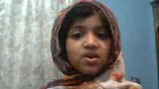 CUTE: AHMADI WAQF-E-NAO KID TELAWAT QURAN