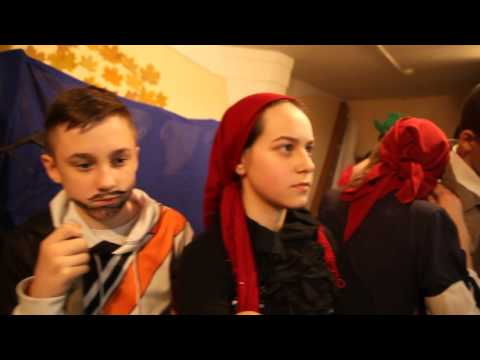 Senior l. Thanksgiving Mannequin Challenge at International School of Tomorrow, Moscow