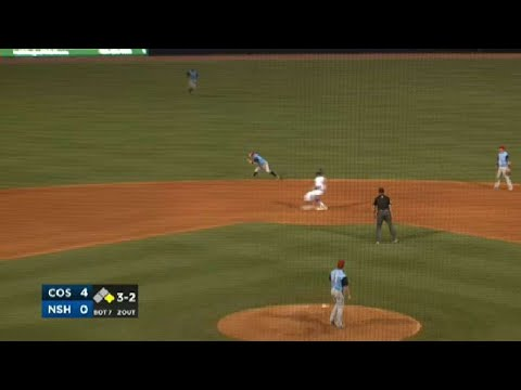 Colorado Springs' Orf makes a diving play