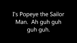Popeye Theme from Sinbad the Sailor