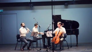 Brahms, Clarinet Trio - II. Adagio (The Danish Clarinet Trio)