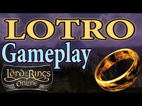 Lord of the Rings Online (LOTRO) Gameplay 2016 | All Classes – Mounted Combat – Group Content | 2016