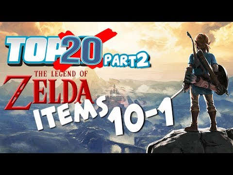Top 20 Zelda Items (10-1)