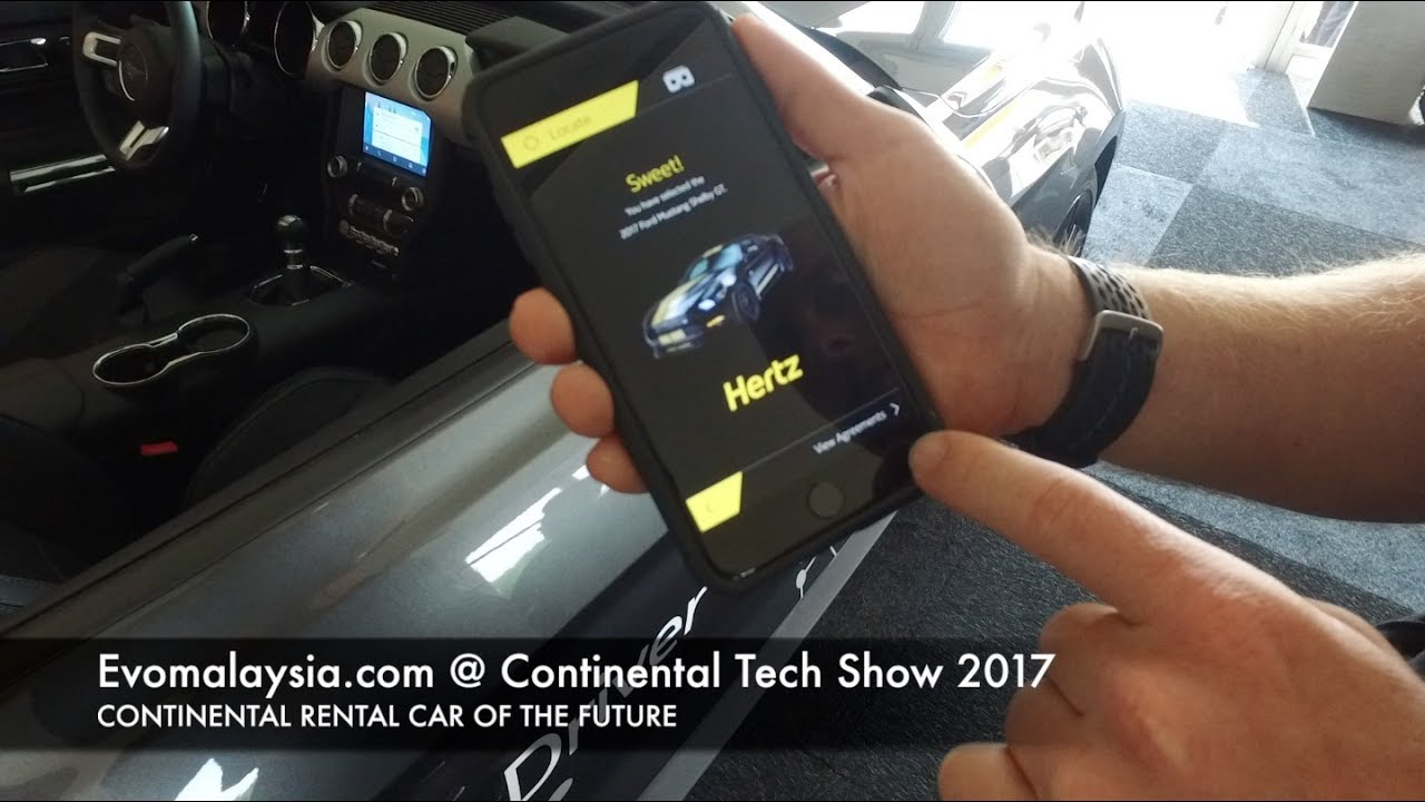 This Is How A Hertz Rental Car Could Be Like In The Future