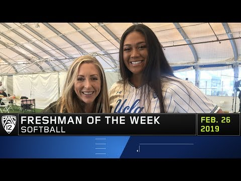 UCLA's Megan Faraimo throws her second no-hitter to snag Pac-12 Softball Freshman of the Week honors