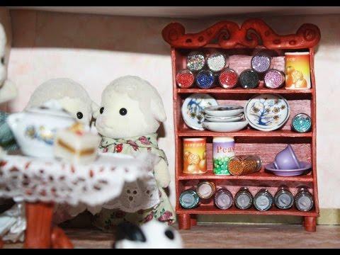 Смотреть Шкаф в кукольный домик из полимерной глины своими руками. Мастер-класс от Школы мастеров
