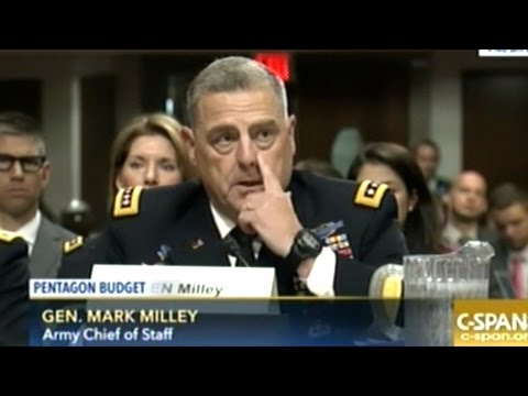GIVE US MORE MONEY! NEVERENDING WAR IS EXPENSIVE! Pentagon Budget Hearing