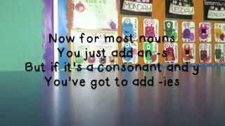 Plural Nouns Song (Frozen)