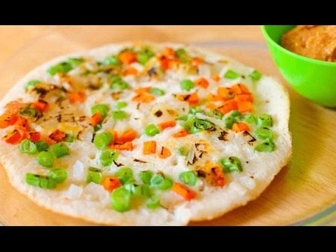 Vegetable utappam recipe in tamil|How to make vegtable utappam ...