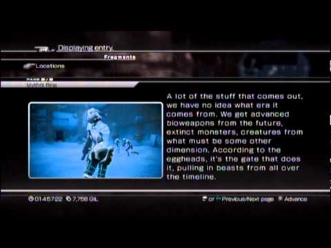 Final Fantasy XIII-2 Playthrough #050, Yaschas Massif 110 AF (4/4), Book Of Avalon