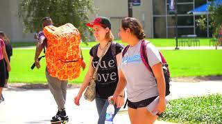 HUGE Backpack Prank at TAMU-CC