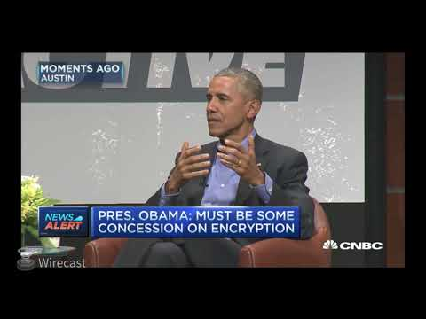 President Obama Talks about Bitcoin$ it can not be hacked! Swiss bank account in your pocket