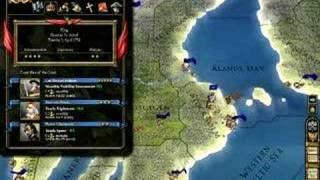 In-game footage Europa Universalis III