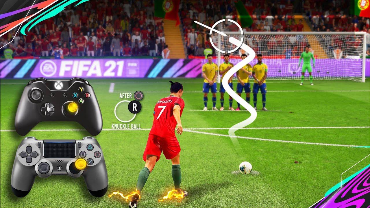 Download FIFA 21 Knuckleball/Power Free Kick Tutorial