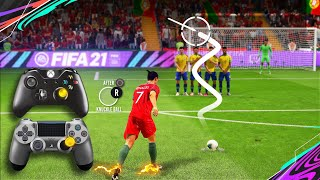FIFA 21 Knuckleball/Power Free Kick Tutorial