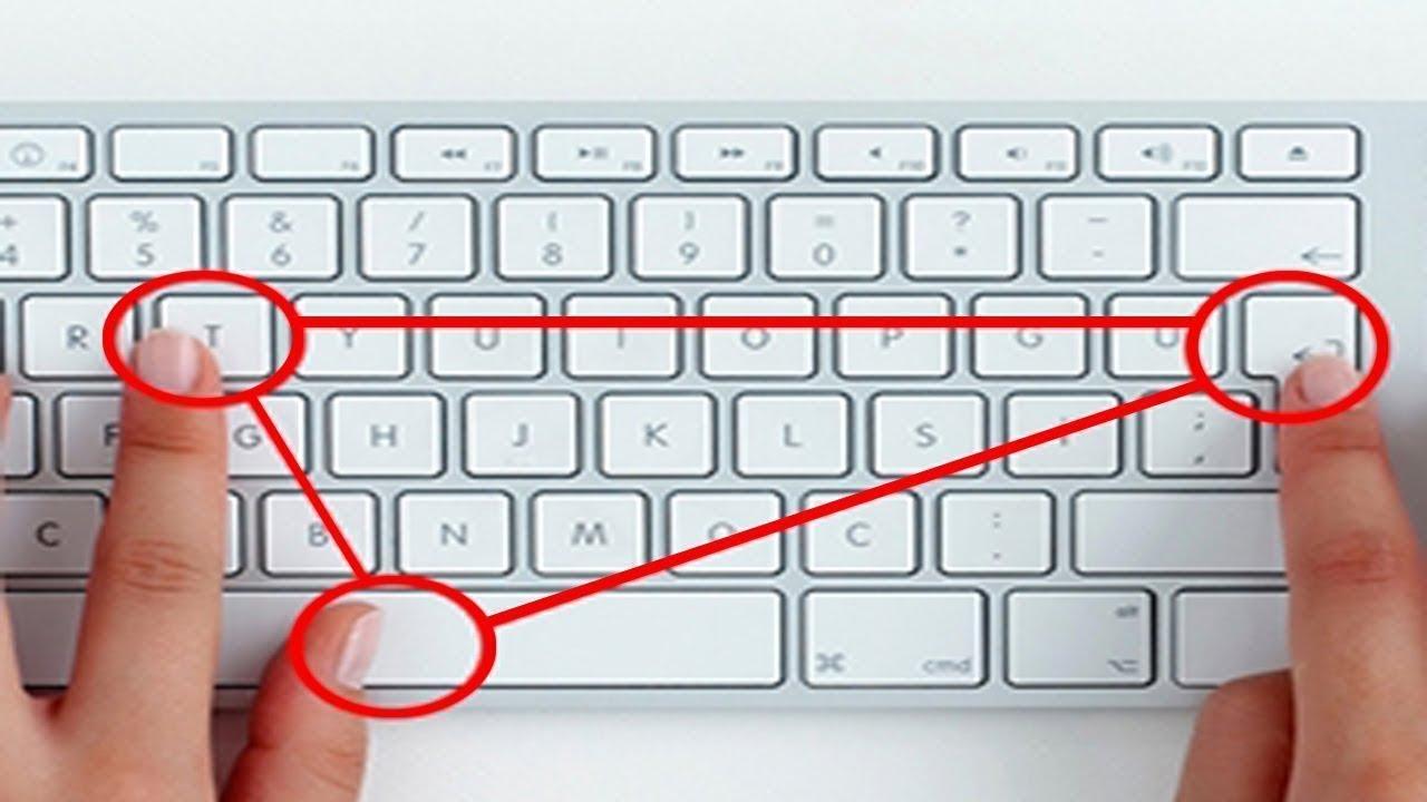 10 سيمات في لوحة المفاتيح لم تكن تعلم عنها شيئا Youtube