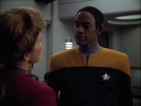 Tuvok Promotion to Lieutenant Commander