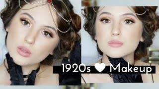 VINTAGE 1920s Flapper Girl Transformation | HALLOWEEN COSTUME IDEA