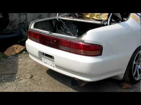 Toyota Cresta JZX90, 1JZ-GTE [работа двигателя], распил.