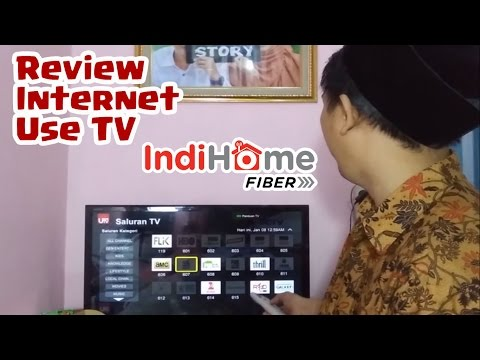 Review Internet dan Use TV Indihome