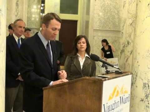 Vaughn Ward for Congress Idaho CD1 Jan. 26, 2010 Announcement at Capital  Part I of II