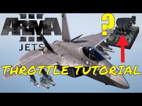 Arma 3 | Jets DLC | HOTAS Setup Tutorial!!