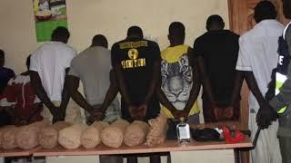 Le ratissage de la gendarmerie à Keur Massar, des bandes organisés arrêtés