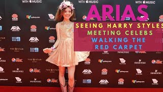 GOING TO THE ARIAS! (Red carpet, meeting celebs, seeing Harry Styles!)