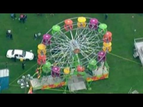 3 injured after falling off ferris wheel at Washington fair