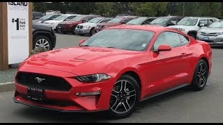 2019 Ford Mustang EcoBoost premium Review| Island Ford