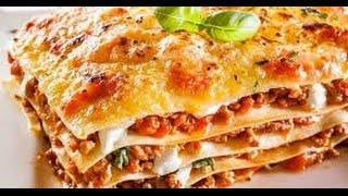 Лазанья с Фрикадельками Итальянский Рецепт / Meat Lasagna