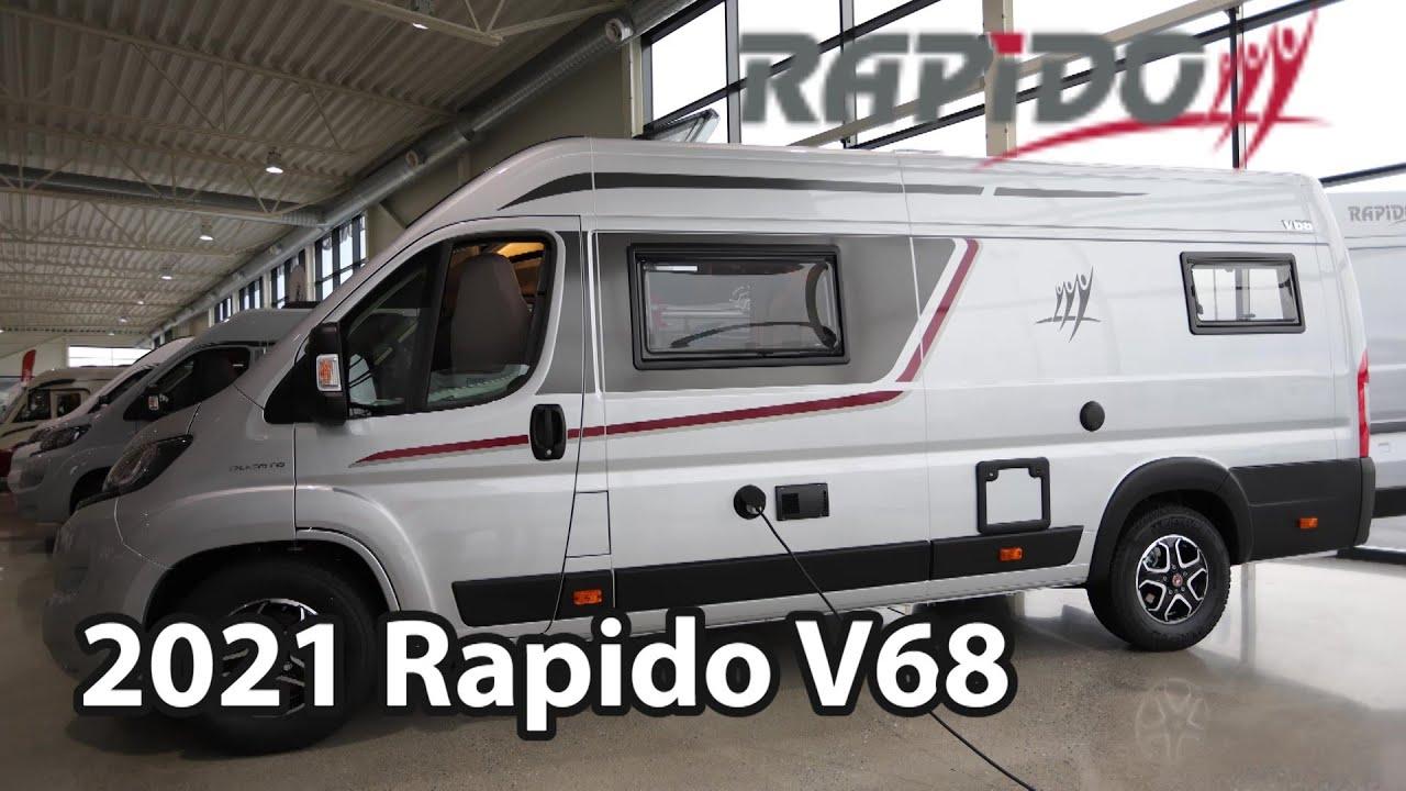Download Rapido V68 2021 Camper Van 6,36 m