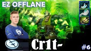 Crit - Earth Spirit EZ Offlane | Dota 2 Pro MMR Gameplay #6