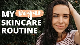 VEGAN SKIN CARE ROUTINE // For Acne Prone Skin (UNSPONSORED)