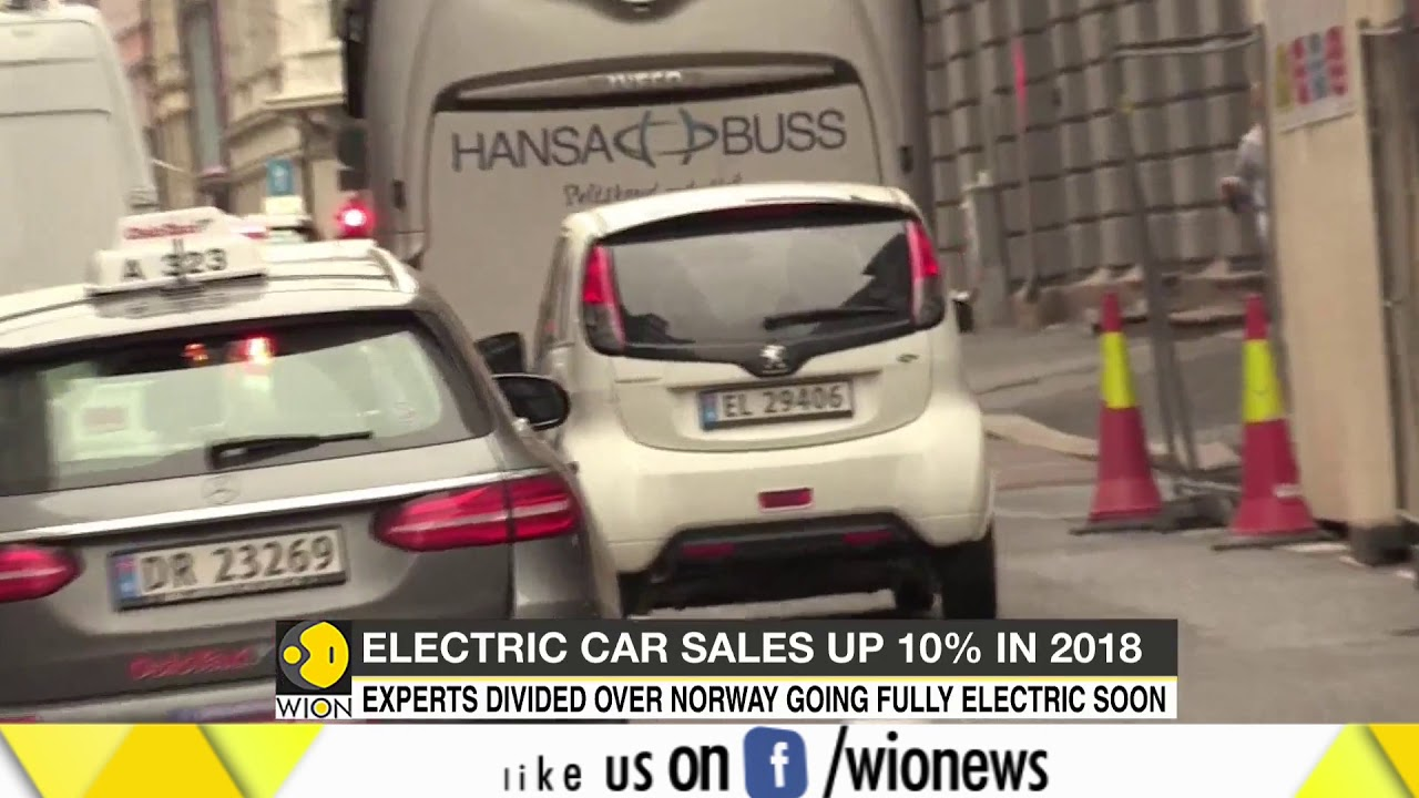 Electric car sales grew by 40% in Norway this year