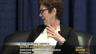 Book TV 2013 Book Expo America: Becky Anderson and John Sargent