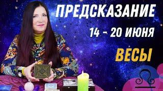 ВЕСЫ - ПРЕДСКАЗАНИЕ с 14 по 20 июня 2021 от Софии Литвиновой