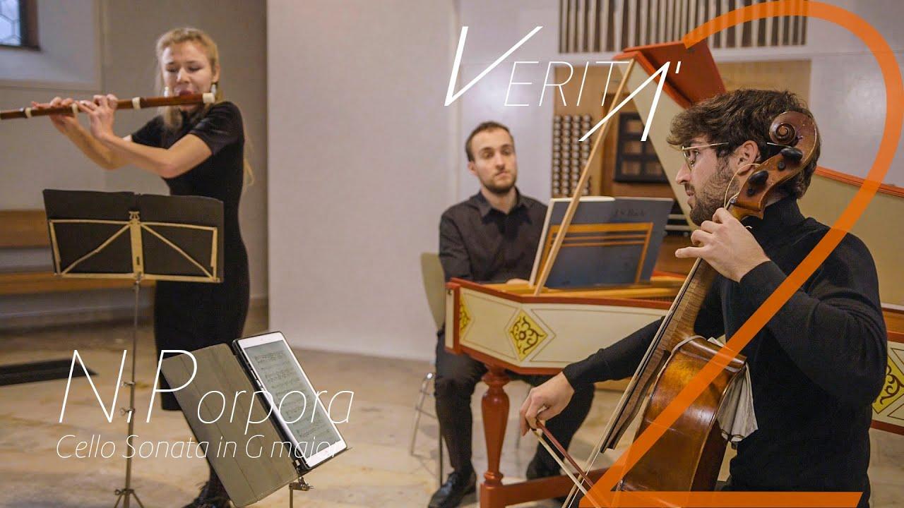 VERITÀ - N.Porpora/G.B.Costanzi Cello Sonata in G major
