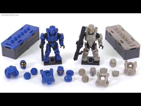 Mega Bloks Halo Spartan Armor Customizer Pack review!
