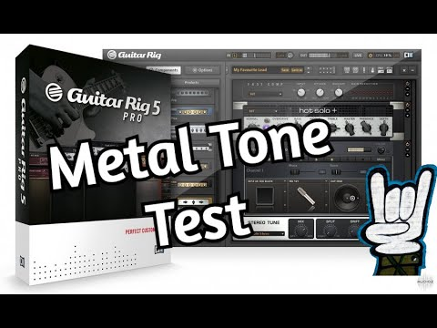 guitar rig 5 virtual high gain amp metal tone test vst plugin download free metal. Black Bedroom Furniture Sets. Home Design Ideas
