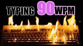 ★ ★ Typing Test  ★ ★ 90 WPM ★  ★