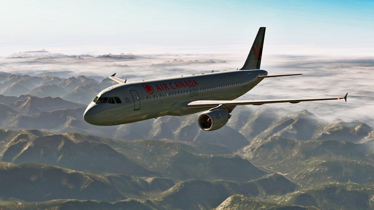 Landing in Vancouver X-Plane 11 + JARDesign A320 + xEnviro + edTracker +  CYVR