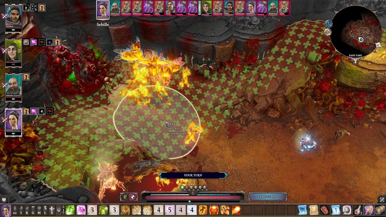 Divinity Original Sin 2(DE) - Tactician Suicidal Rogue Build - lv7 Radeka