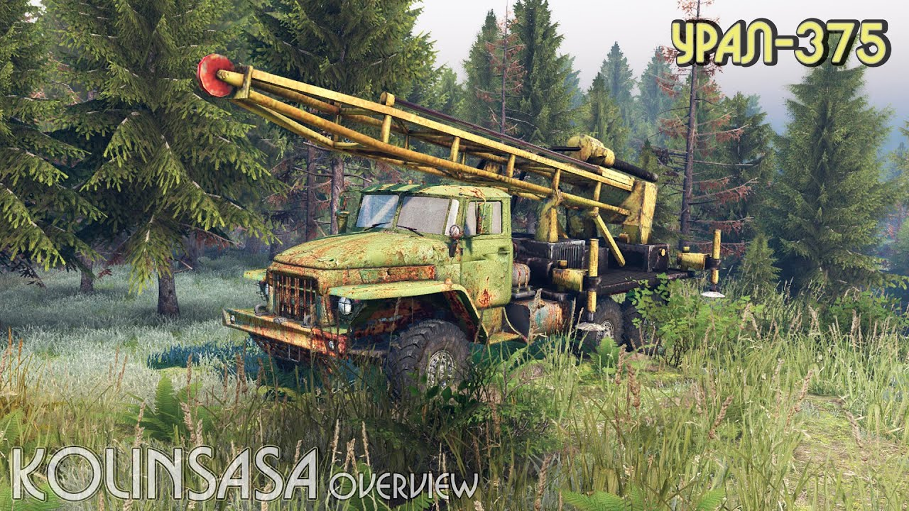 Spintires 2014 - МАЗ-515 - YouTube