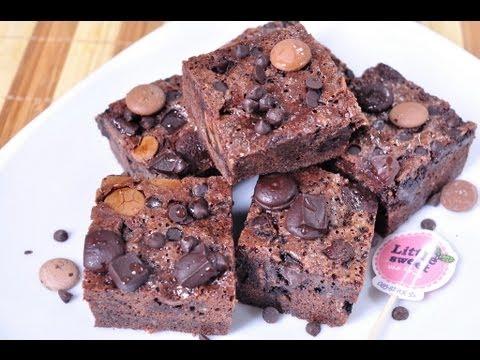 ช็อกโกแลตบราวนี่ Chocolate Brownie
