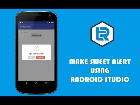 Android Studio - Sweet Alert