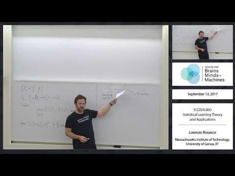 Class 03 - Reproducing Kernel Hilbert Spaces