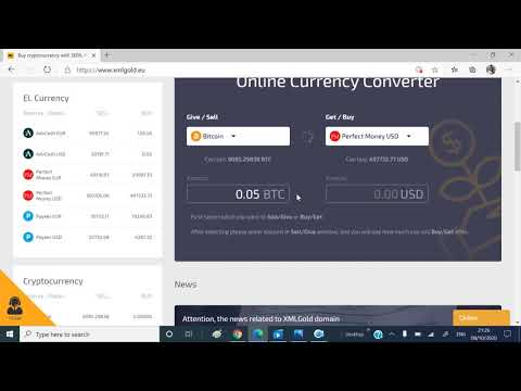 How To Convert Perfect Money To Bitcoin From Xmlgold Site